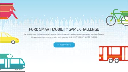 Ford Challenges Game Developers to Revamp Journey Planning and Urban Travel