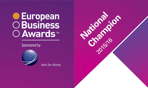 GoSwift has been selected as a National Champion representing Estonia in the 2015/16 European Business Awards.