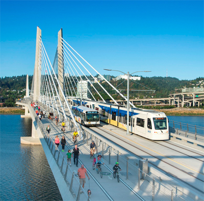 Operator TriMet relies on rail technology from Siemens for newly opened light rail line