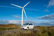 Wind power propels Renault electric vehicles into the outer hebrides of Scotland