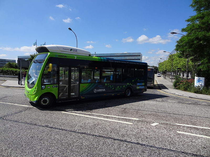 New e-buses roll onto Nottingham's roads (UK)