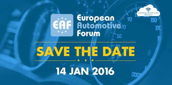 European Automotive Forum to be held on 14 January
