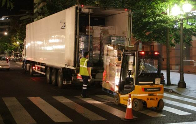 Smart & Sustainable Urban Freight in Newcastle and Barcelona