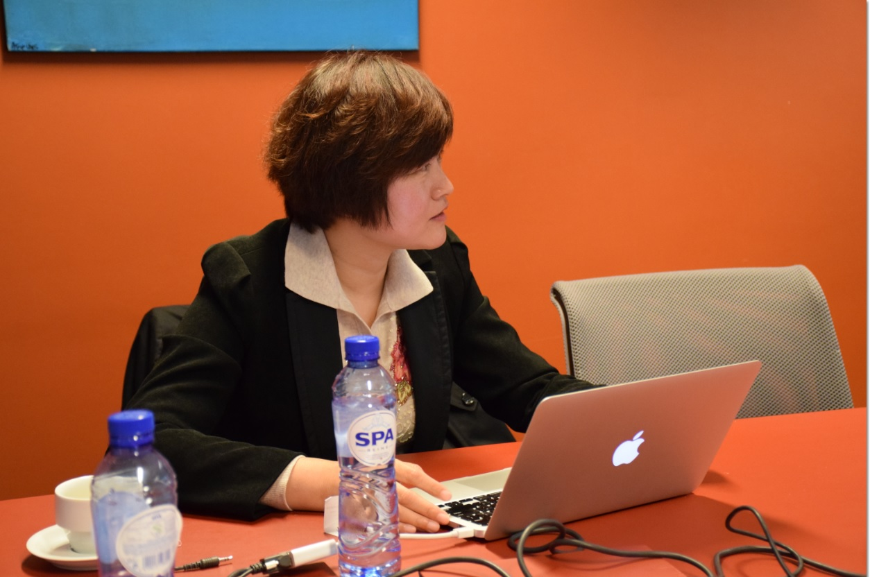 Ms. Liyuan Gong Discusses Big Data & Innovative Public Transport in Jinan, China