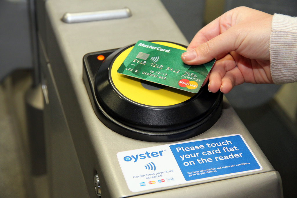 Contactless payment for London's public transport