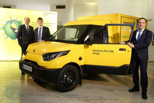 Electric delivery vans tested in Ruhrgebiet