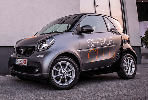 First Romanian car-sharing service launched in Cluj-Napoca