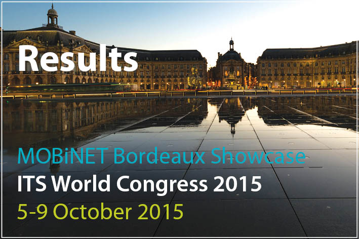 The results of the MOBiNET Bordeaux Showcase are available online