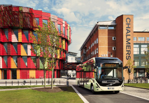 Electric bus route