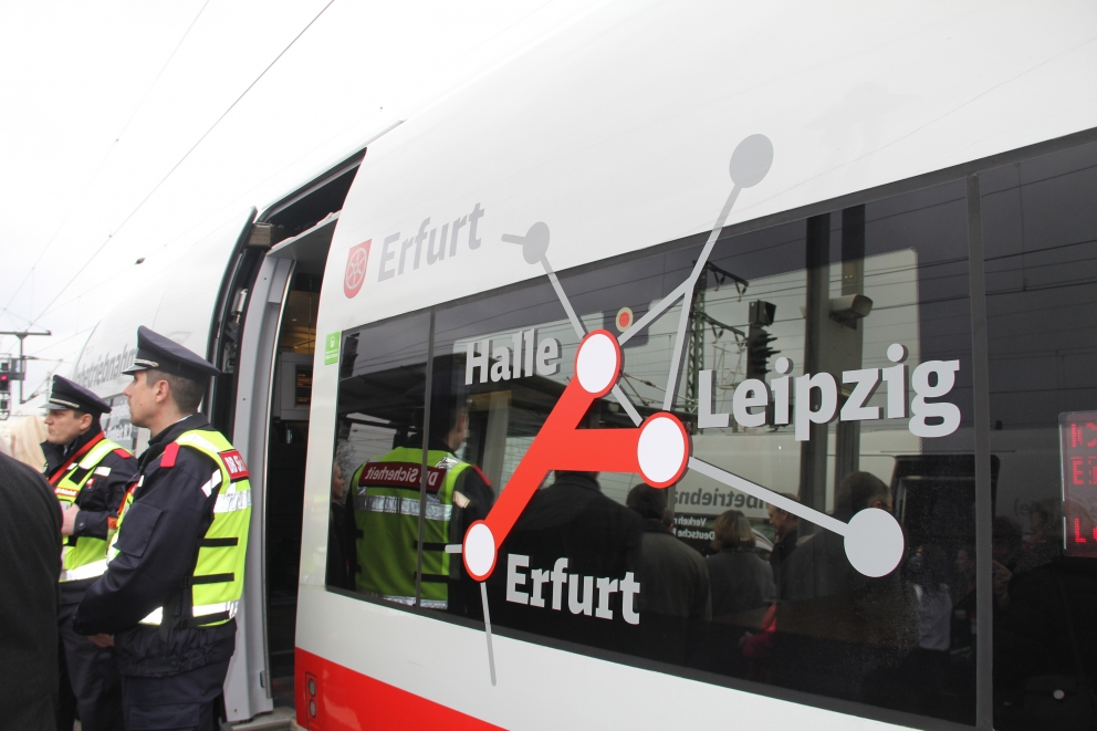 New high-speed rail link opens between Leipzig and Erfurt