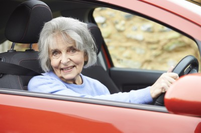 First insights into driving patterns of aged people