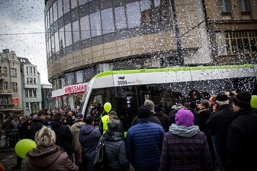 The tram returns to Olsztyn after 40 years