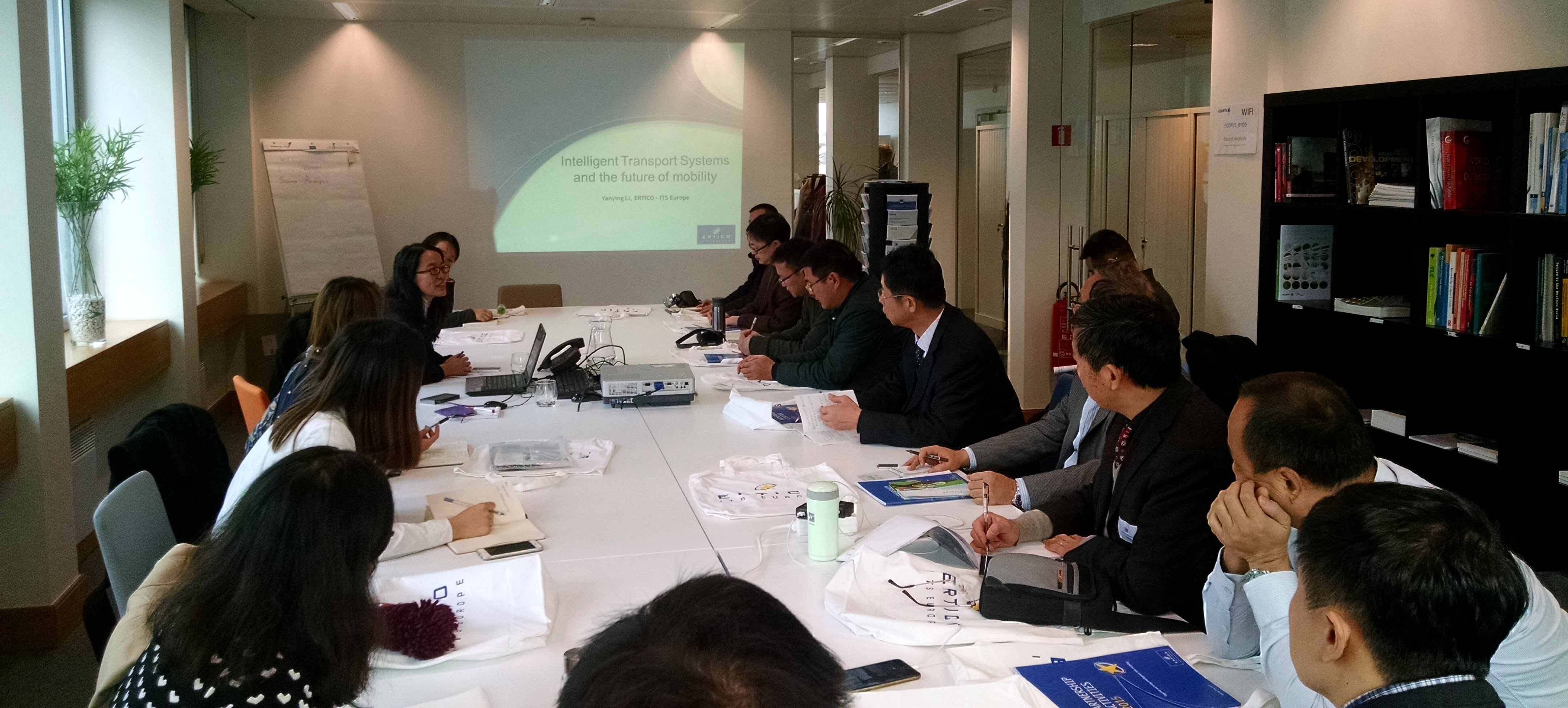 Top urban mobility solutions presented to a delegation of Chinese experts