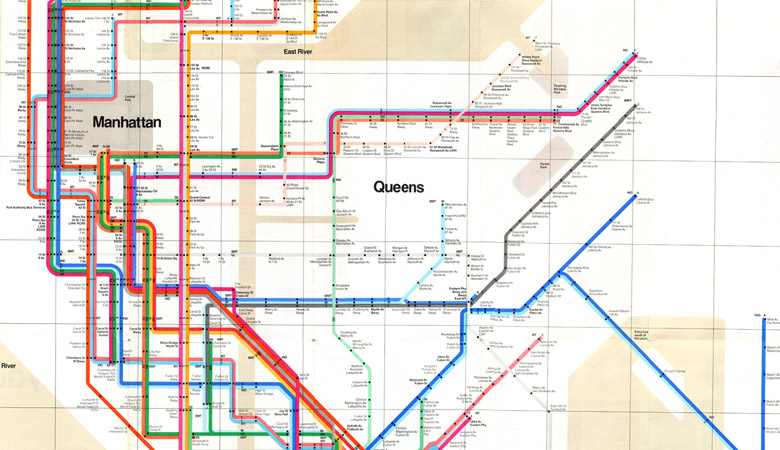 Creating a new view of the New York City subway