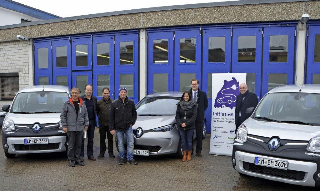 Emmendingen introduces EVs into municipal fleet