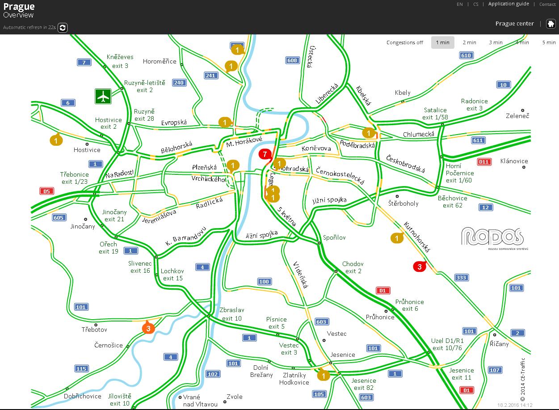 The Czech Traffic Management Revolution – a golden opportunity for the exploitation of Big Data technology