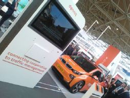 Compass4D services demonstrated by Dynniq at Intertraffic