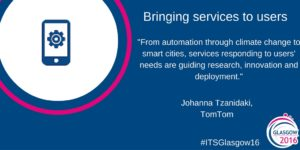 #ITSGlasgow16-Services to users