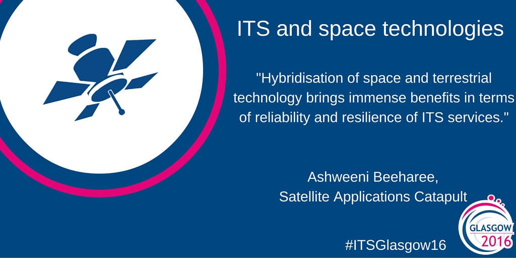 ITS and space technologies go way beyond satellites
