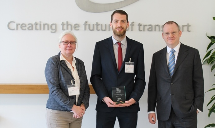 TRL and ITS United Kingdom award ITS Student Prize