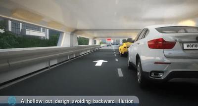 Innovative 'straddle bus' to undergo testing