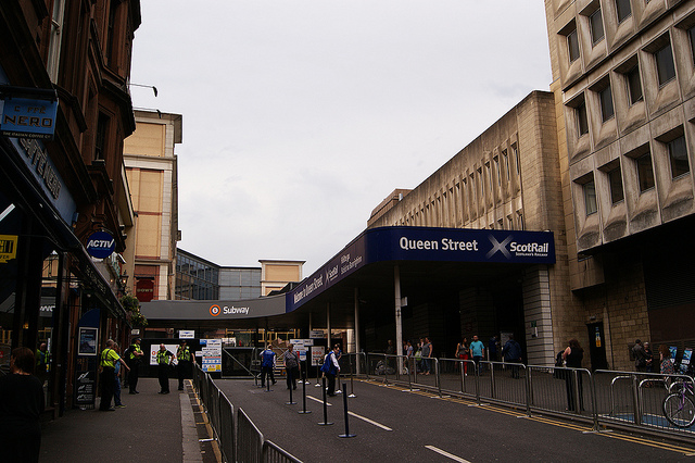 Know before you go! Engineering work at Glasgow Queen Street