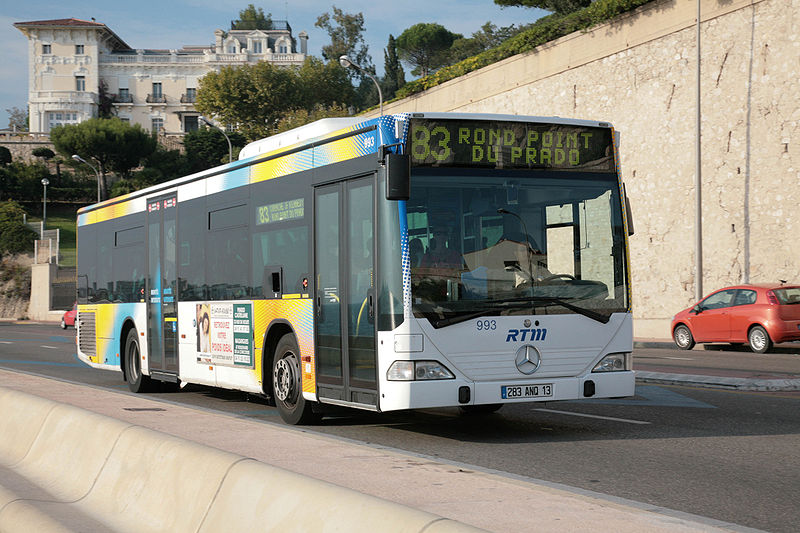 Marseille launches first 100% e-bus line