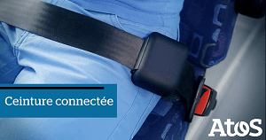 The Atos smart seat belt wins prize at the Connected Objects Awards 2016