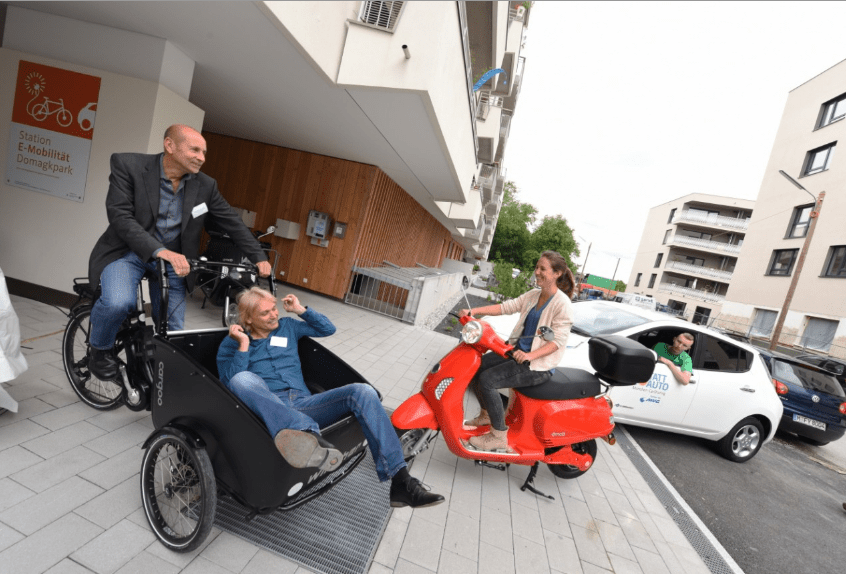 Munich neighbourhood opens e-mobility service for residents