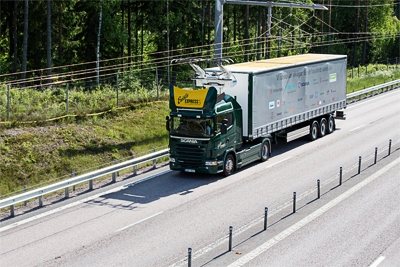 World's first eHighway opens in Sweden
