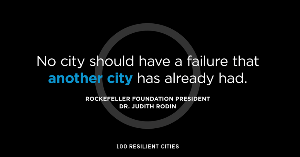 Siemens and 100 Resilient Cities announce partnership