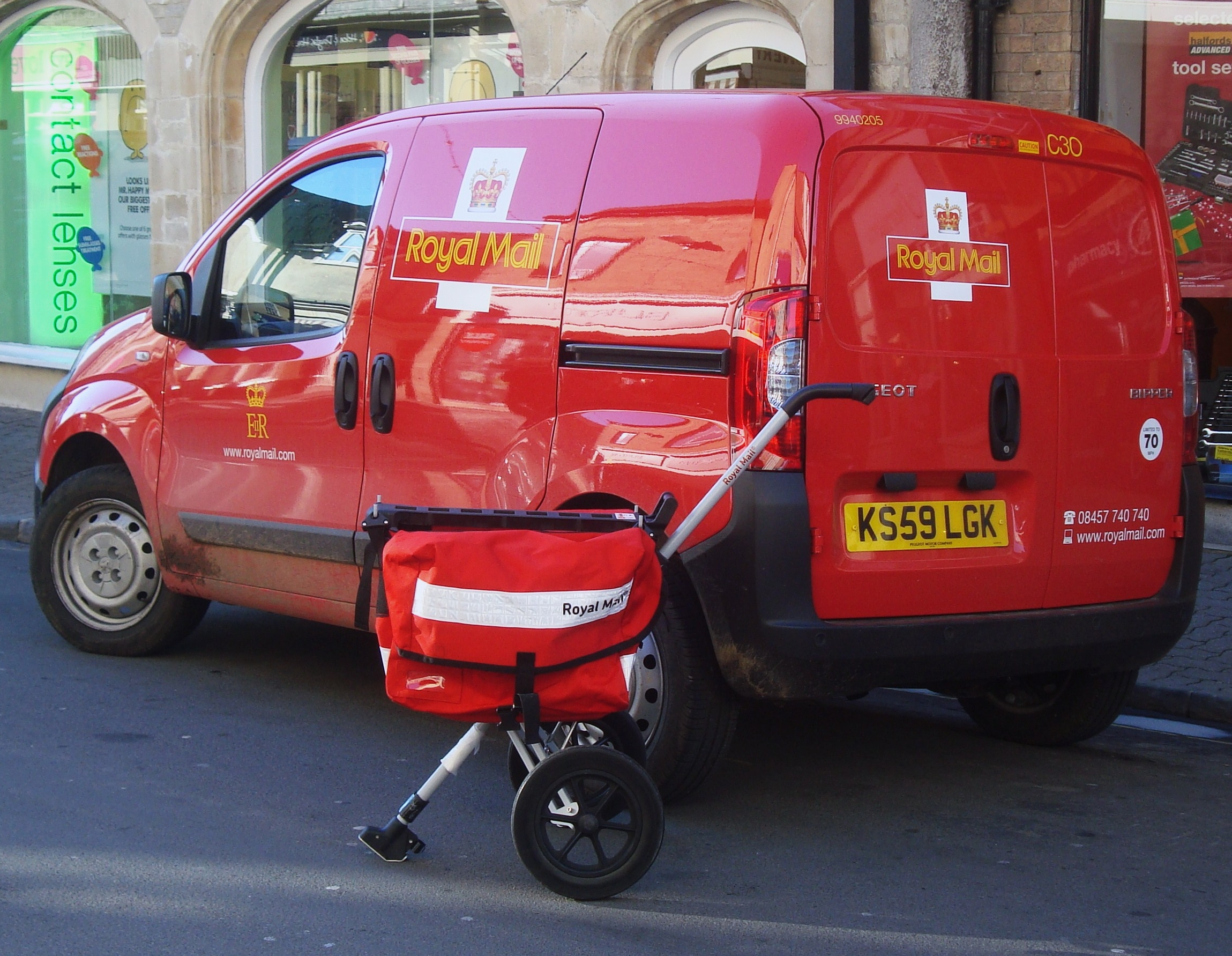 New storage technology to help deliveries to building sites