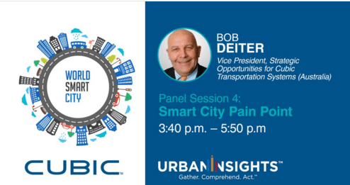 Cubic Calls for Collaboration and Innovation to Overcome Transportation and Mobility Pain Points at World Smart City Forum