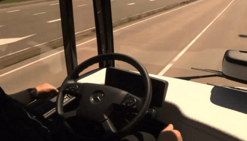The semi-automated city bus with CityPilot paves the way to the future