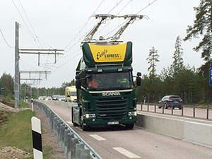 First electric road in Sweden inaugurated