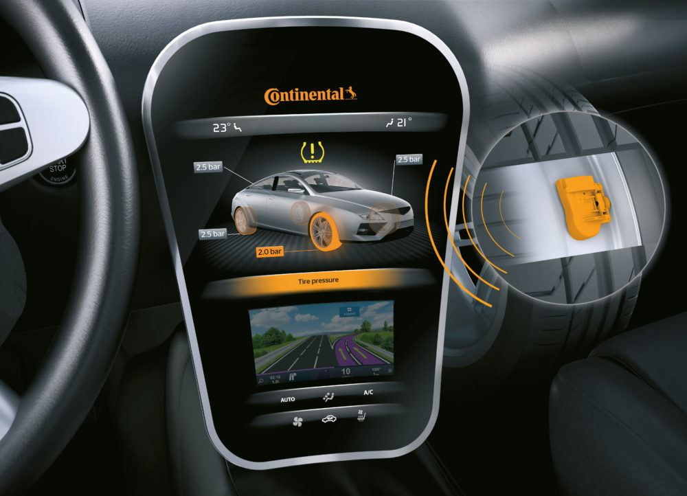 Continental Celebrates Production of the 200 Millionth Tire Pressure Sensor