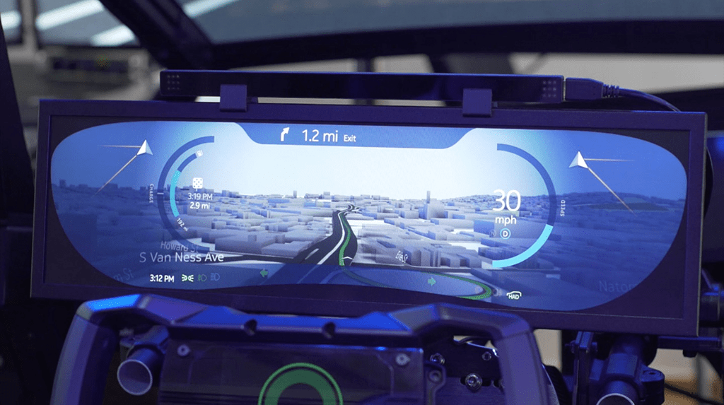 How autonomous cars 'talk' to their passengers across three senses