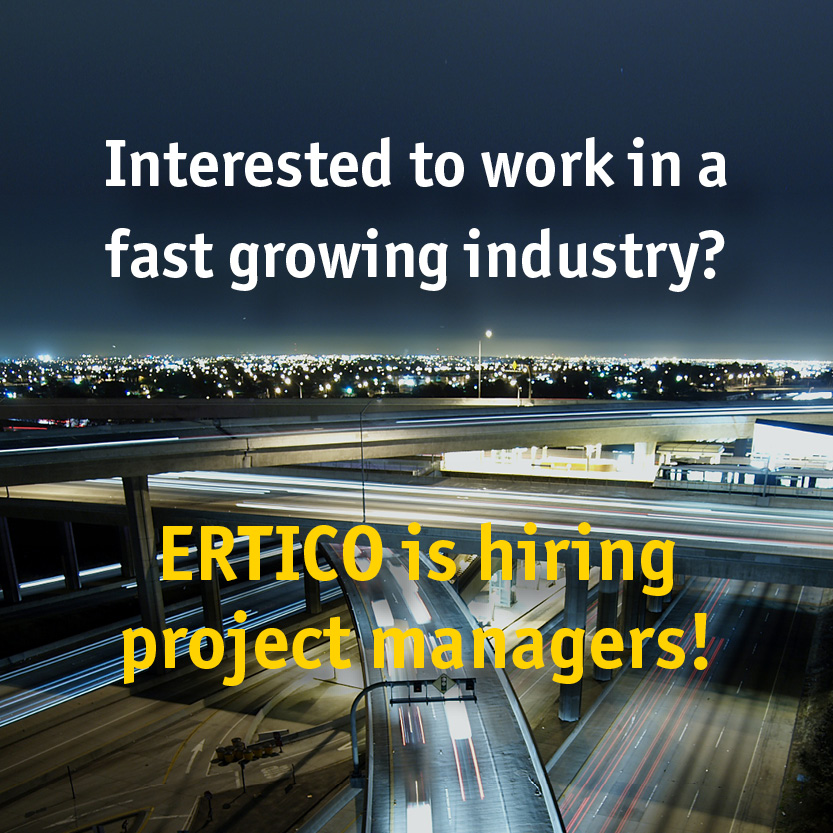 ERTICO is hiring!
