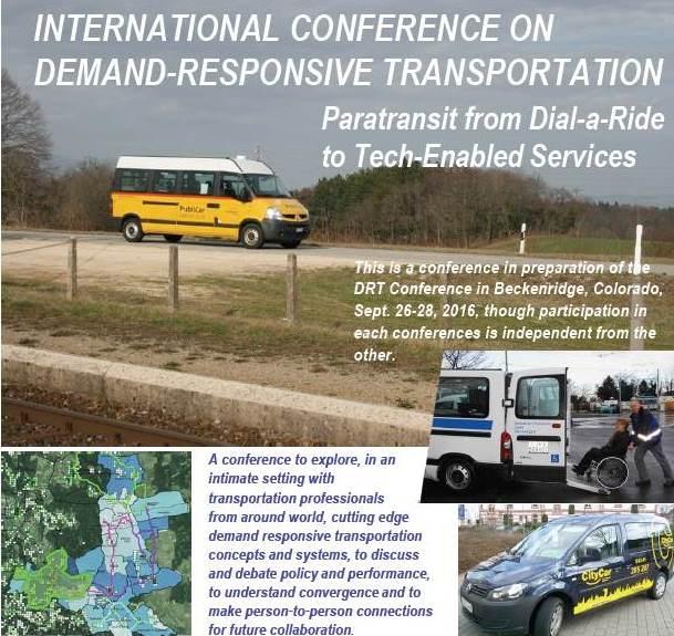 Seminar discusses role of 'flexible' public transport