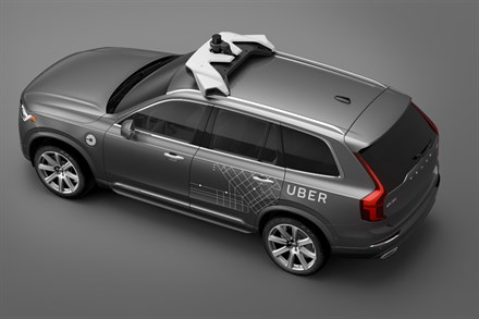 Volvo Cars and Uber team up to develop next generation autonomous driving cars