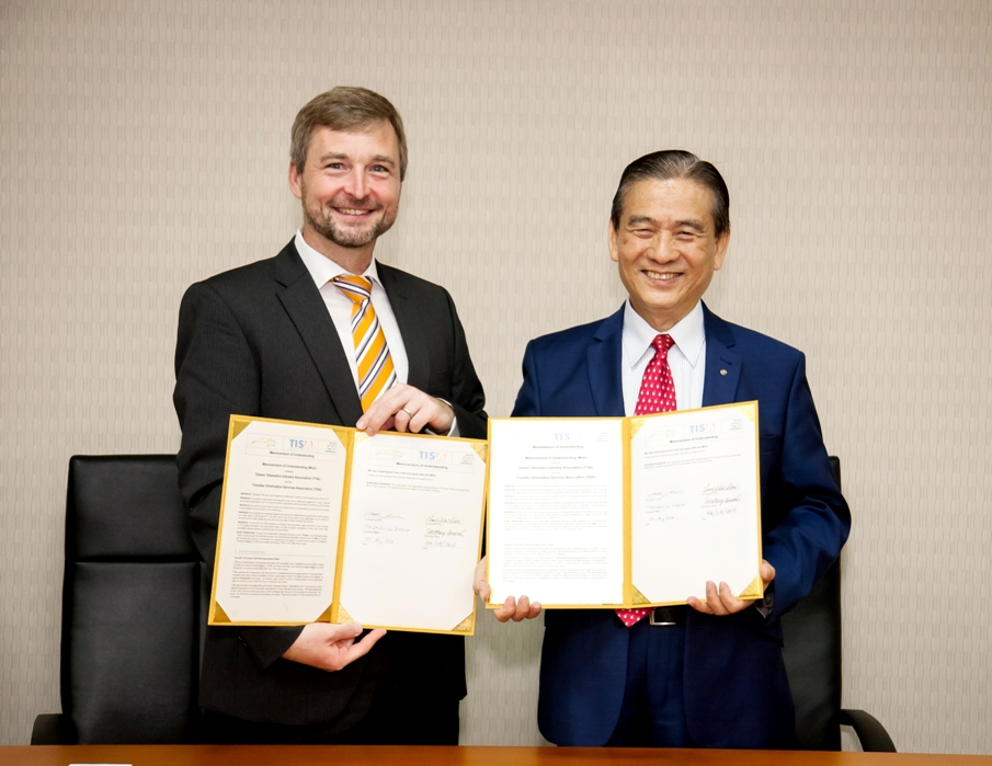 TISA signs MOU with Taiwan Telematics Industry Association in Taipei