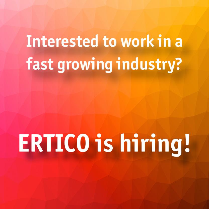 ERTICO is hiring Comms