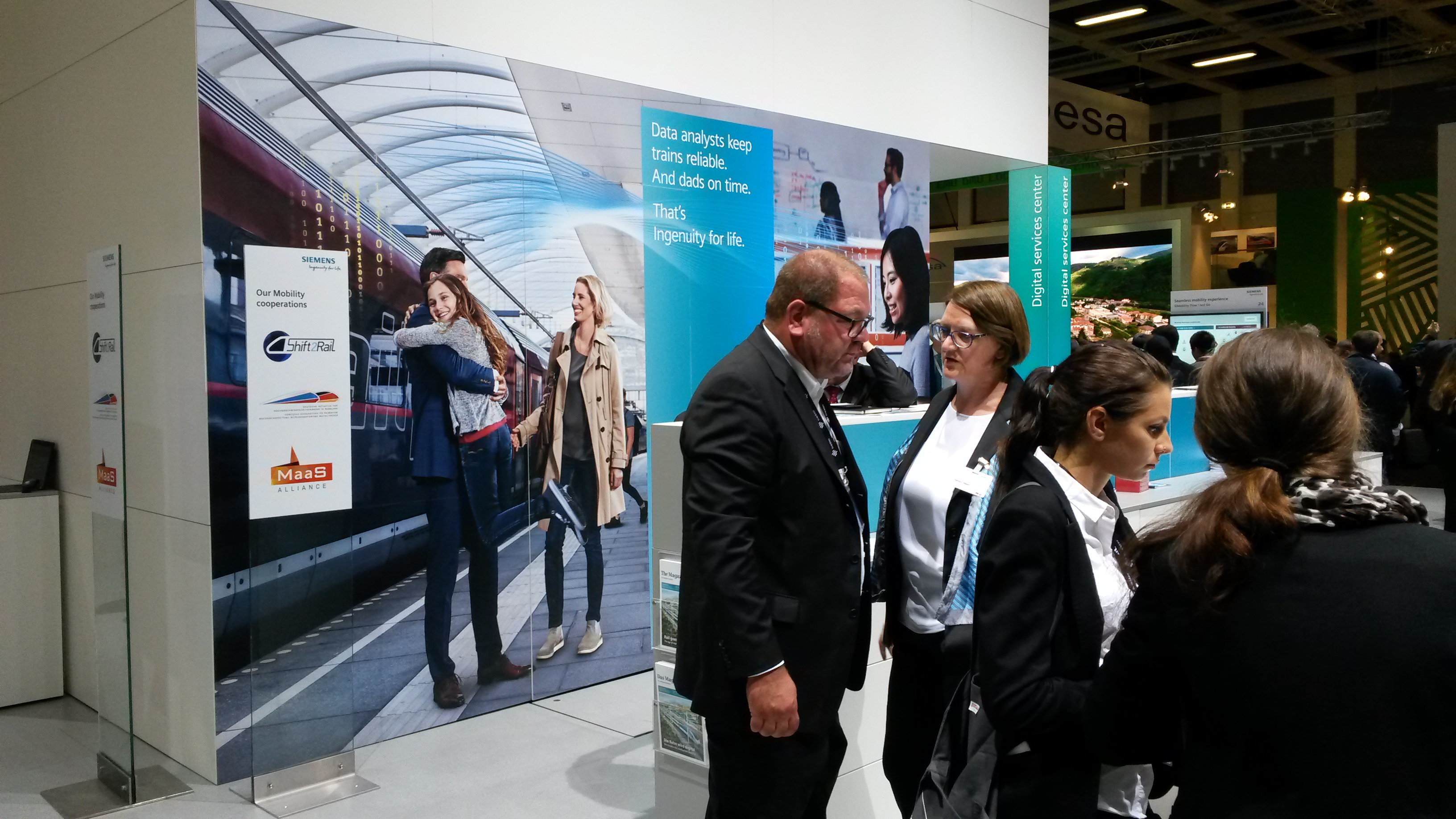 Siemens present their MaaS solutions and MaaS Alliance in Berlin