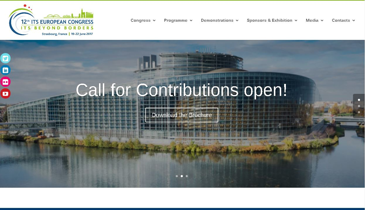 ITS Strasbourg 2017 Call for Contributions is now open!