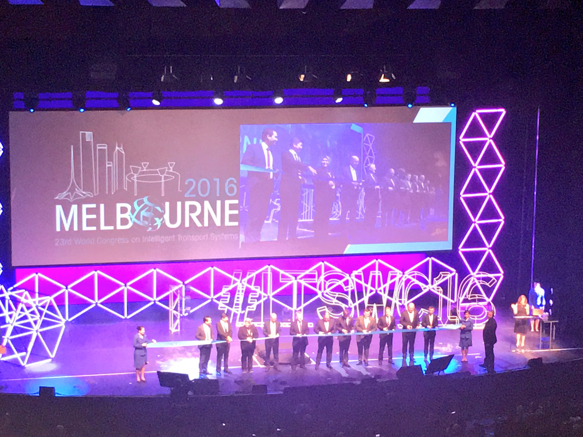 #ITSWC16 kicks off with the Opening Ceremony and Hall of Fame Awards