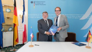 French and German governments launch a joint initiative on electromobility and automated driving