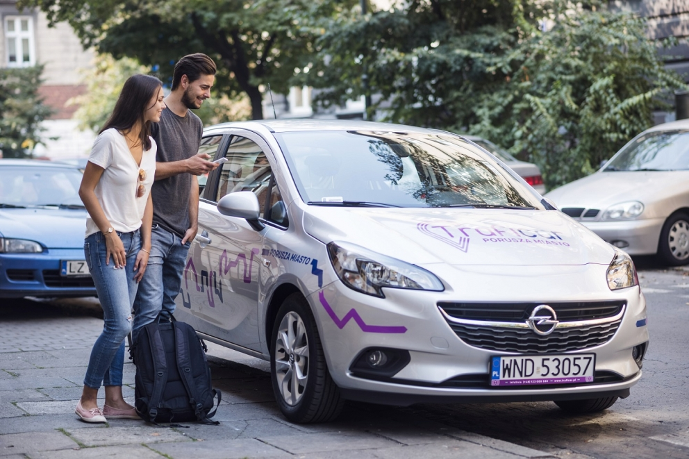 Kraków launches first car-sharing service (Poland)