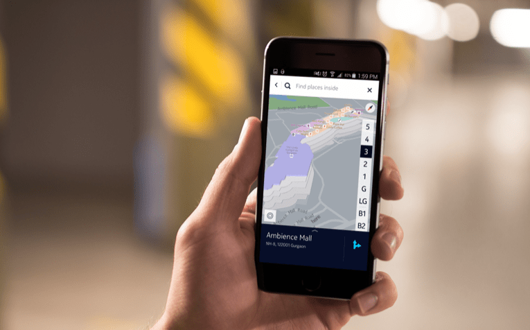 HERE venue mapping takes a step forward with Indoor Positioning