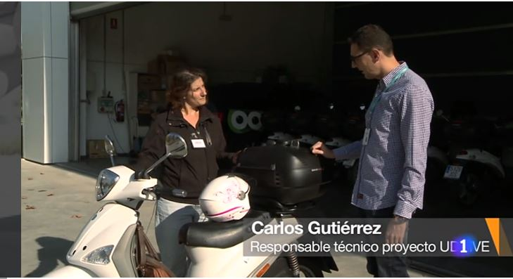 UDRIVE featured on Spanish national television
