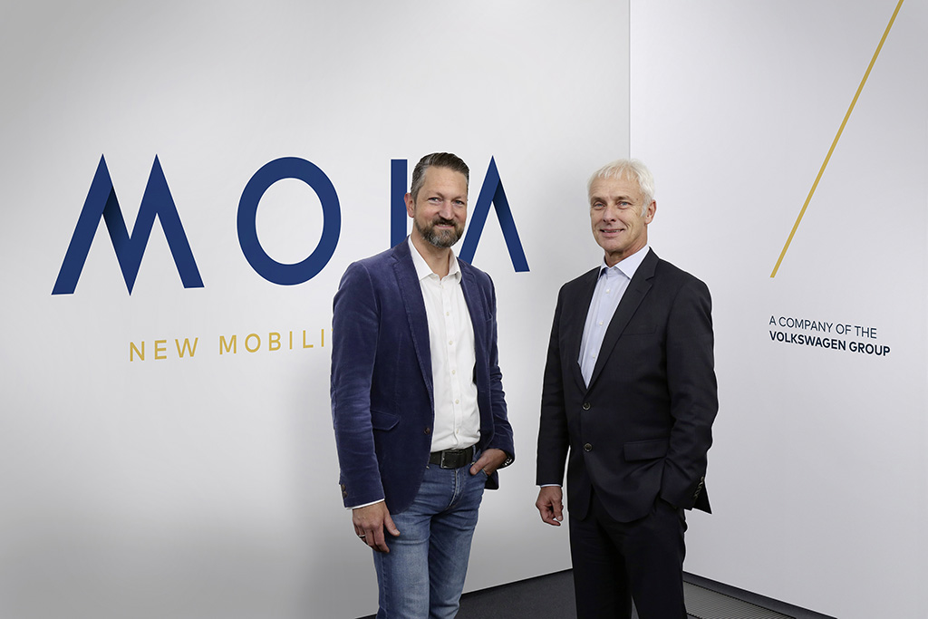 MOIA – the Volkswagen Group's new mobility services company